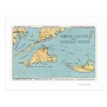 Martha's Vineyard & Nantucket Islands Post Cards