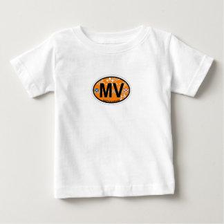 Martha's Vineyard Oval Design. Baby T-Shirt