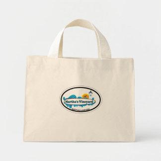 Martha's Vineyard Oval Design. Bags