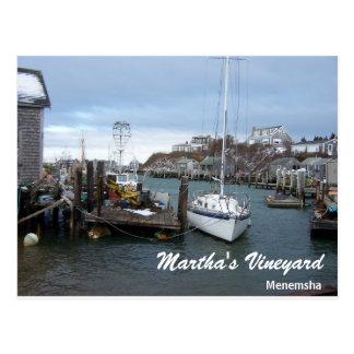 Martha's Vineyard Postcard Menemsha