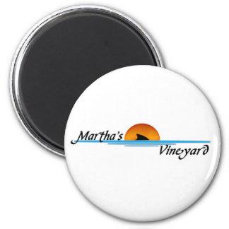 Marthas Vineyard Shark Magnet
