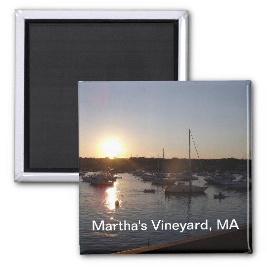 Martha's Vineyard Square Magnet