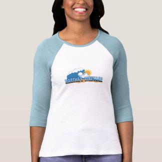 "Martha's Vineyard ""Waves"" Design. T Shirt"