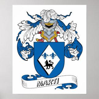 Marti Family Crest Print
