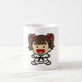Martial Art Girl Mug
