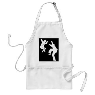 Martial Art on Movies Standard Apron