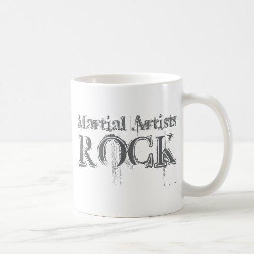 Martial Artists Rock Mugs