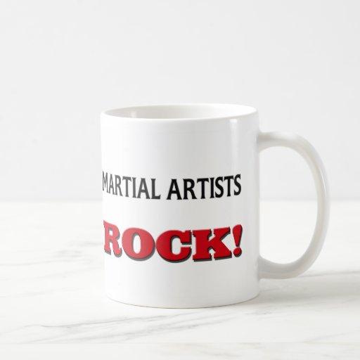 Martial Artists Rock Mug