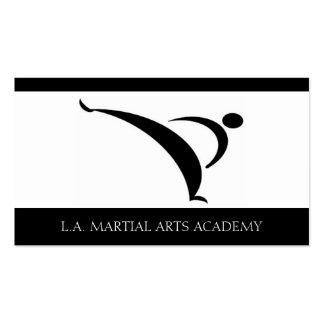 Martial Arts Academy Karate Taekwondo Kung Fu Business Card