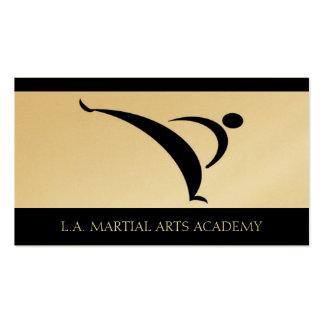 Martial Arts Academy Karate Taekwondo Kung Fu Business Cards