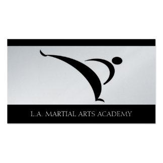 Martial Arts Academy Karate Taekwondo Kung Fu Business Card Templates