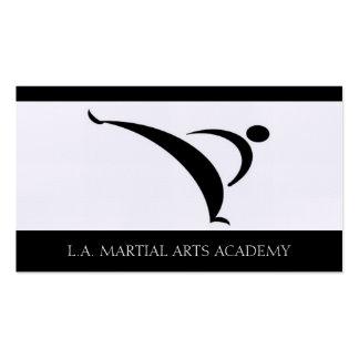 Martial Arts Academy Karate Taekwondo Kung Fu Business Card Template