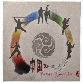 Martial Arts American MoJo Napkins