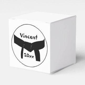 Martial Arts Basic Black Belt Favour Box