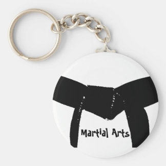 Martial Arts Black Belt Keychain