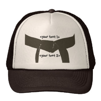 Martial Arts Brown Belt Cap
