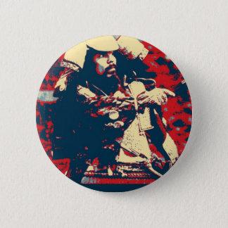Martial Arts bushido Japanese warrior Samurai 6 Cm Round Badge