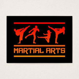 Martial Arts business cards - customize!