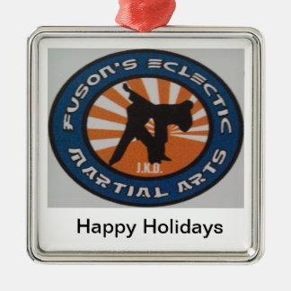 Martial Arts Christmas Holiday Ornamnet Christmas Ornament