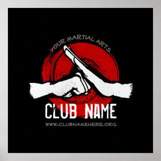 Martial Arts Club Poster