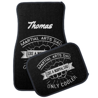 Martial Arts Dad Like a Normal Dad Only Cooler Car Mat