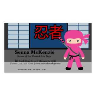 Martial Arts Doju Pack Of Standard Business Cards