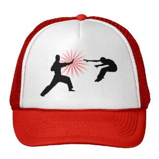 Martial Arts Energy Silhouette Cap