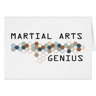 Martial Arts Genius Card