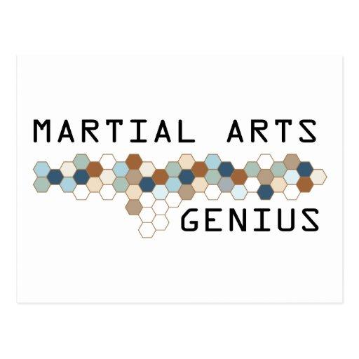 Martial Arts Genius Postcards