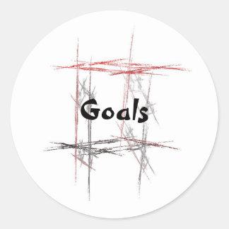 Martial Arts Goals Sticker