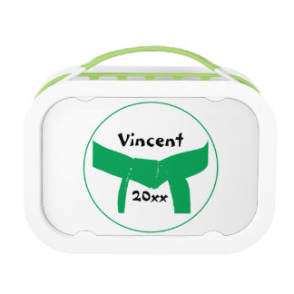 Martial Arts Green Belt Lunch Boxes