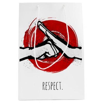Martial arts 2nd degree black belt congratulations small gift bag martial arts 2nd degree black belt congratulations small gift bag zazzle m4hsunfo