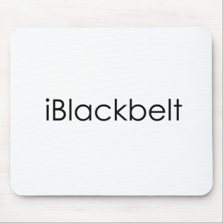 Martial Arts iBlackbelt Mouse Mat