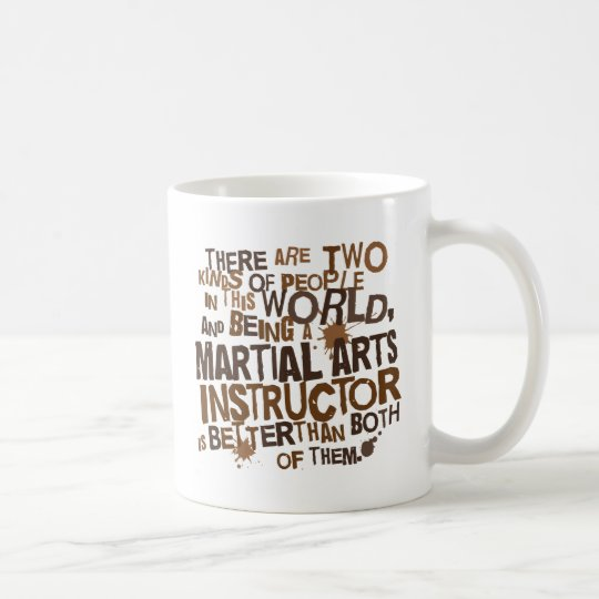 Martial Arts Instructor Gift Coffee Mug