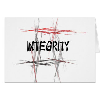Martial Arts Integrity Card