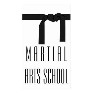 Martial Arts Karate Self Defense Business Card Standard Business Cards