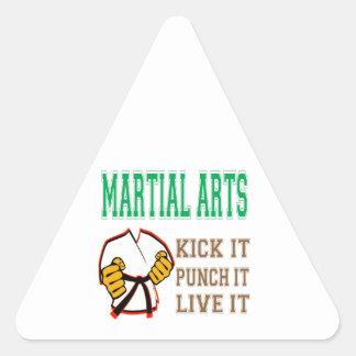 Martial Arts Kick it, Punch it, Live it Sticker