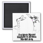 martial arts Kupigana Ngumi african Refrigerator Magnet