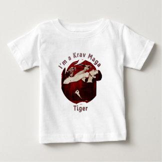 Martial Arts MMA Krav Maga Tiger Red T-shirt