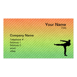 Martial Arts Pack Of Standard Business Cards