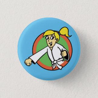 Martial Arts Party Kid 1 Button