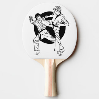Martial Arts Ping Pong Paddle