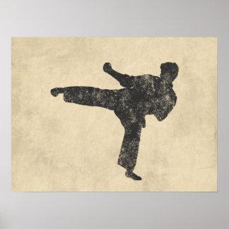 Martial Arts Print