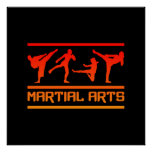 Martial Arts poster - customize!