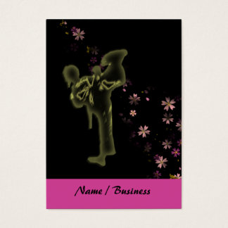 Martial Arts Princess Business Card