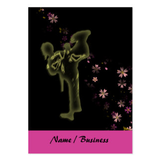 Martial Arts Princess Pack Of Chubby Business Cards