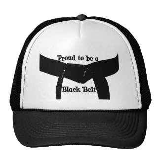 Martial Arts Proud to be a Black Belt Hat