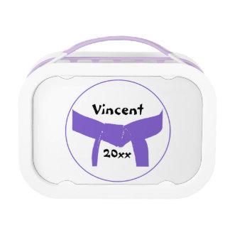 Martial Arts Purple Belt Lunch Box