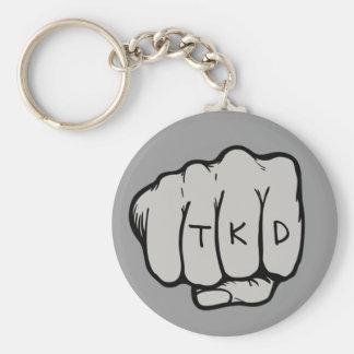 Martial Arts TKD Fist Key Ring