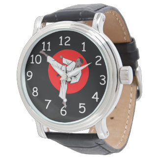 Martial Arts Wrist Watch